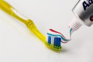 tooth brush and toothpaste for oral care